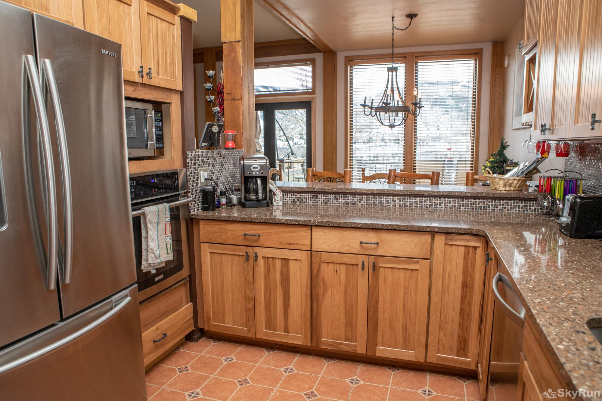 16 Chambertin Townhomes Kitchen view