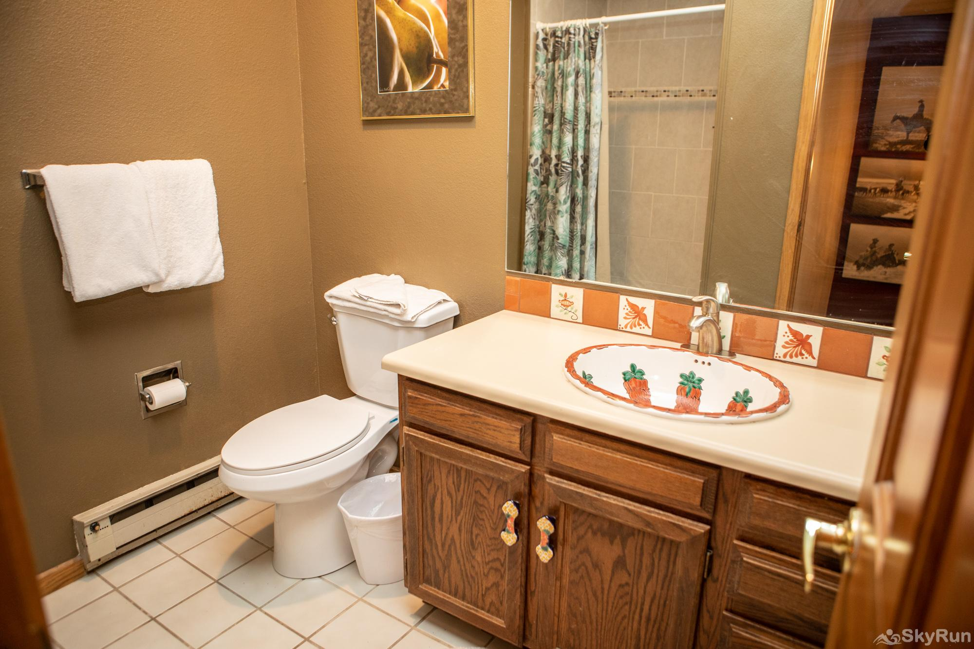 16 Chambertin Townhomes Upstairs Guest Bathroom