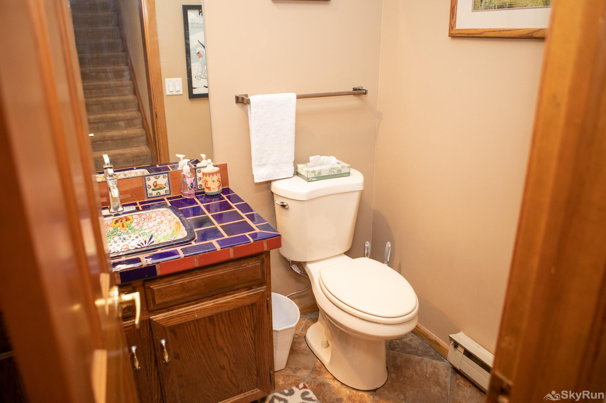 16 Chambertin Townhomes Downstairs Guest Bathroom